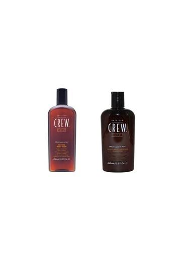 American Crew American Crew Body Wash Erkek Vücut Şampuanı 450 Ml+ Classic Daily Erkek Günlük Şampuan 450 Ml Renksiz